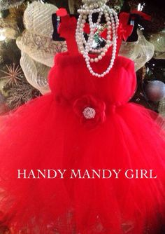 Red tutu dress-Audrey Hepburn inspired tutu dress- Audrey Hepburn in red on Etsy, $60.00