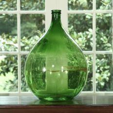 """19th. Century Hand-Blown Bottle. Circa 1890 - 26""""H  -  $99.00  ($198.00)"""