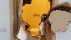 Bobsledder Johnny Quinn Breaks Through Locked Door  (Photo: Johnny Quinn via Twitter)