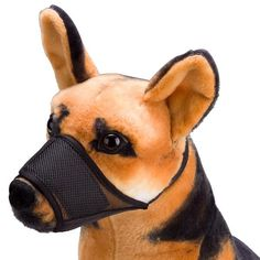 Breathable Best Fit Customizable Dog Muzzles