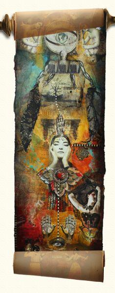 Marquis de Scroll - Art Is...You - Your Mixed Media Art Retreats