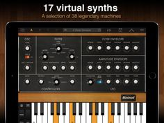 Syntronik Synth Suite by IK Multimedia | iPad Music Apps Blog - Music app reviews, news and tutorials