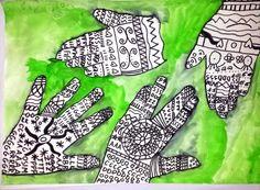 Hands Ruke, ritam 1.razred