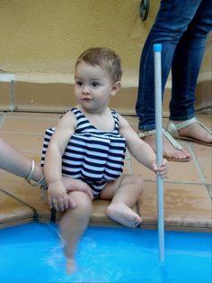 Piscina para beb s en pinterest tinas de ba o de beb for Tirarse a la piscina