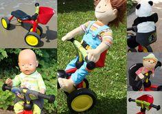 Fragolinchen Fahrrad Puppensitz Max