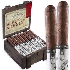 Alec Bradley Black Market Cigars | Cigar Afficinado | Pinterest