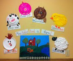 13 Best Farm Animal Crafts Images Animal Crafts Farm