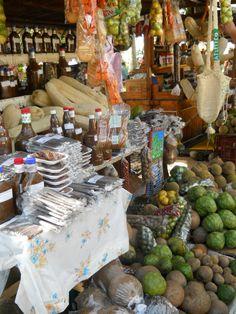 Sweets in the main plaza, Santa fe de Antioquia, Colombia. Market , sweets
