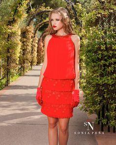 Uno de mis vestidos favoritos de Sonia Peña . Ref: 1160004