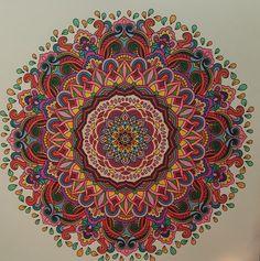 ColorIt Mandalas Volume 2 Colorist: Kathy Gibbs #adultcoloring #coloringforadults #mandalas #mandalastocolor