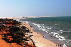Praia do Morro Branco, Ceará