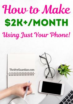 Earn cash using just your phone! Check out these 9 money making apps you can use to make money and build up a side hustle. Such an easy way to save money, get out of debt, and earn cashback on your purchases. Ideas on how to make money using just a cellphone - the best 9 money making apps you can use to get cashback, bring in extra money, and work from home. Earn From Home, Work From Home Tips, Make Money From Home, Make Money Online, Hobbies That Make Money, Ways To Save Money, Money Tips, How To Make Money, Household Budget