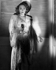 British actress Virginia Field in the 1950 film noir Dial 1119
