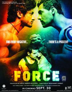 Download Force 2011 Hindi 550MB DVDRip 720p ESubs