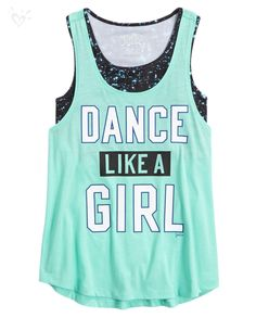 Our exclusive collection of galaxy-inspired tanks and dancewear are out of this world!