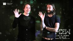 MEW's Jonas and Johan Greetings for 'MEW Live in Jakarta 2015' - http://youtu.be/V69o46KT37o