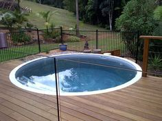 Just for fun! Our 20,000 Litre Tank used as a pool | Coolamon Concrete Tanks | Inground Rainwater Tanks, Coffs Harbour