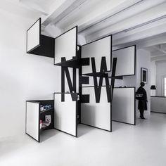 De jongens van Frame Magazine hebben voor de tweede keer een succesvolle winkel opgestart. Dit keer ontworpen en ingericht door interieur specialisten i29. De winkel verkoopt een mix tussen kunst, magazines, design en kleding.