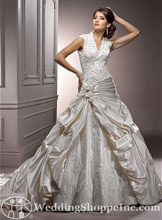 Order a Maggie Sottero Perla Lynette Bridal Gown at The Wedding Shoppe today