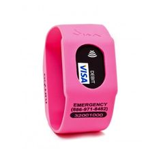 watch that holds your credit card - perfect for errands, the gym, etc