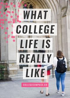 What College is Really Like via @collegecompassc
