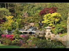 7 min: Meditation music. Japanese garden.