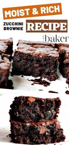 Healthy Zucchini Brownies, Zucchini Desserts, Chocolate Zucchini Brownies, Healthy Zucchini Recipes, Chocolate Cake, Zucchini Cake, Chocolate Buttercream, Buttercream Frosting, Healthy Dessert Recipes