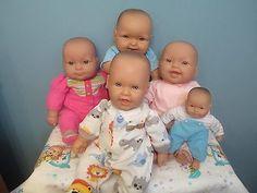 Adorable-All-Vinyl-amp-Vinyl-Cloth-Berenguer-Baby-Dolls-for-Reborn-Cuddle-Play