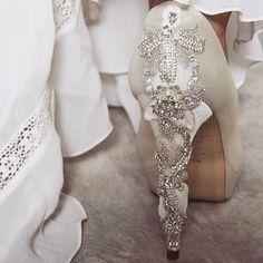 Back Shot of Freya Rose Darling Shoes www.freyarose.com