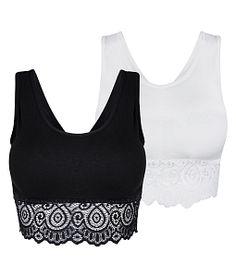 Combo 2 áo ngực nữ ren thun chéo lưng