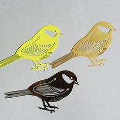 bird paperclips