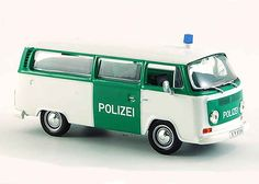 VW T2 Bus Diecast Model Car by Whitebox WHIS0015 This VW T2 Bus Diecast Model Car is Green and White and features working wheels. It is made by Whitebox and is 1:43 scale (approx. 10cm / 3.9in long). #Whitebox #ModelCar #VW