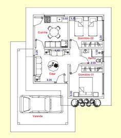 plantas de casas de chacaras com varanda - Pesquisa Google