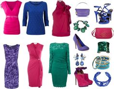 Deep Winter bright colors-- for colors only. want edgier clothes