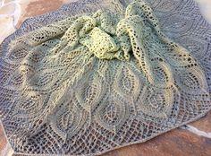 Omelet Shawl By Joyce Fassbender - Free Knitted Pattern - (ravelry)