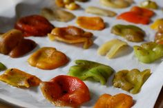 Preserving Seasonal Foods: Bell Peppers http://www.100daysofrealfood.com