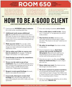 How to be a Really Good Client @Jason Graham and @Ryan Davis