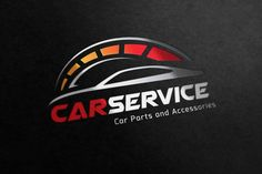 Ad: Car Service Logo by Vectorwins Premium Shop on Logo Template Features --- - Scalable Vector Files - Everything is editable - Everything is resizable - Easy to edit color / text - Business Brochure, Business Card Logo, Logo Autos, Branding Design, Logo Design, Graphic Design, Service Logo, Service Car, Automotive Logo