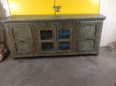 Indian Sideboard by MarigoldImports on Etsy
