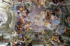 ceiling fresco in the Jesuit church of Sant´Ignazio - Rome, Italy ©ZAINOO | www.zainoo.com | #Roma #Lazio #Italia #Rom #Latium #Italien