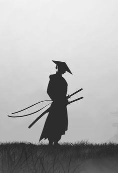 Ninja Kunst, Arte Ninja, Ninja Art, Ronin Samurai, Samurai Warrior, 47 Ronin, Samurai Wallpaper, Ninja Wallpaper, Japanese Artwork