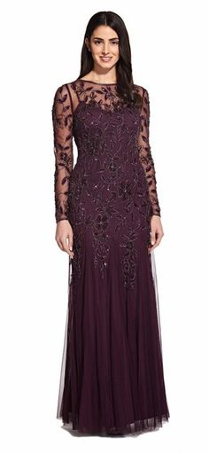 Mob Dresses, Petite Dresses, Formal Dresses, Mother Of The Bride Dresses Long, Mothers Dresses, Floral Sheath Dress, Sequin Dress, Column Dress, Beaded Gown