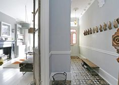 Victorian hallway decorating ideas ornate hallway photo in victorian terrace hallway decorating ideas . Victorian Terrace Hallway, Victorian Terrace Interior, Victorian House Interiors, Victorian Homes, Edwardian Hallway, Victorian Townhouse, Edwardian House, Modern Victorian, Terraced House