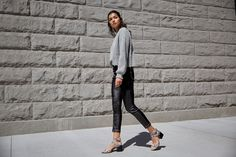 The Apple heeled sandal is a sexy addition to any wardrobe, thanks to sleek western ankle straps and bold block heel. Sigerson Morrison, Ankle Straps, Block Heels, Apple, Sandals, Fall, Winter, Sexy, Slide Sandals
