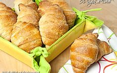 Cornetti per la colazione, ricetta metodo sfogliette