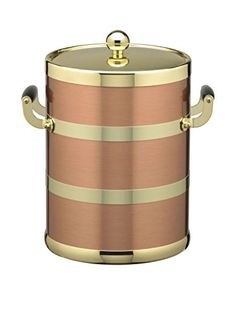 Ice Bucket with Brass Lid * Continue to the product at the image link.
