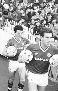 Frank Stapleton and Norman Whiteside #MUFC
