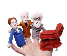 The-Great-Psychologists-Finger-Puppet-Fridge-Magnet-Set