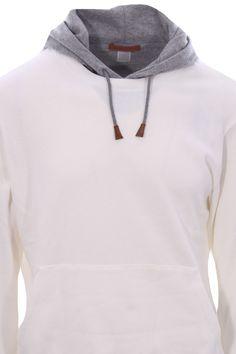 Felpa cappuccio bicolor - ELEVENTY - Virno Hoodies, Winter, Sweaters, Clothes, Fashion, Winter Time, Outfits, Moda, Sweatshirts