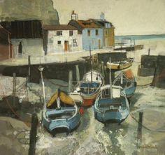 Moira Huntly - AAV - Picasa Web Albums Contemporary Landscape, Contemporary Artists, Seascape Paintings, Landscape Paintings, Spanish Painters, French Artists, Great Artists, Hunting, Coastal Art